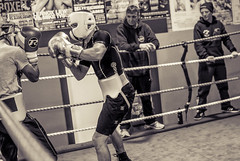 World Champion Lee Selby and his brother Andrew Selby sparring (sophie_merlo) Tags: blackandwhite bw monochrome sport boxing andrewselby leeselby