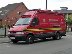 BU56 BVT (Emergency_Vehicles) Tags: west fire birmingham support 106 vehicle service command midlands bu56bvt