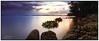 First Light (juliewilliams11) Tags: water longexposure newsouthwales australia serene dawn shore rock clouds contrast cokin gnd filter light