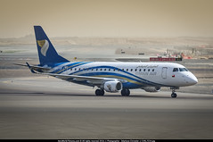 AUH.2015 # WY ERJ175 A4O-EB awp (CHR / AeroWorldpictures Team) Tags: oman air embraer erj175ar erj170200 igw cn 17000324 a4oeb engines 2x ge cf348e history aircraft mar2011 sao jose dos campos flirst flight with reg pttcj 30mar2011 delivered omanair wy oma config cabin c11y60 sjk planes aircrafts erj175 erj170 planespotting taxiways twy abudhabi auh airport omaa uae apron nikon d300s zoomlenses nikkor 70300vr lightroom