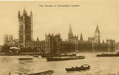 1905 London (Steenvoorde Leen - 2.3 ml views) Tags: londen london 1905 ansichtkaart postkaart postcards postkarte karte card houseofparliament great britain gb england