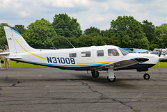 N31008 (GH@BHD) Tags: n31008 piper pa32 saratoga airbritainflyin northwealdairfield northweald aircraft aviation