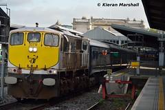 079 departs Heuston, 17/10/16 (hurricanemk1c) Tags: railways railway train trains irish rail irishrail iarnrd ireann iarnrdireann dublin heuston 2016 generalmotors gm emd 071 079 belmond grandhibernian luxurytrain