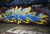 Sone (Alex Ellison) Tags: sone ctr cityrollers tbf pws mhb night northlondon urban graffiti graff boobs
