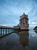 Lisboa, Torre de Belém (explored) (giuseppesavo) Tags: pentax pp9354 photivo sigma816 k7 linux ubuntumate gimp gmic portogallo lisboa lisbona belém torre tower sunset tramonto fiume river