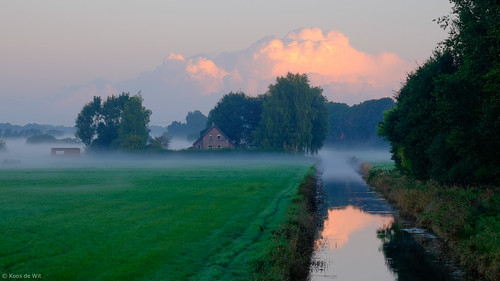 Misty morning in Engelbert