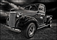 1939 Chevrolet Pick up (bainebiker) Tags: 939chevroletpickup chevy classictruck oldtimer vintage hdr transport canonef24mmf14liiusm monochrome lincoln lincolnshire uk
