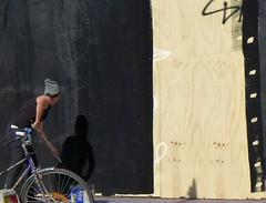 Black Out In Progress (brandsvig) Tags: ngbg plywood black svart painter mlare malm fest gatufest 2016 september vstanforsgatan skne grafitti street