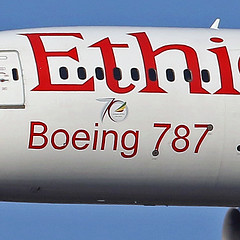 B787-8.ET-AOT-sticker (Airliners) Tags: ethiopian ethiopianairlines 787 b787 b7878 dreamliner boeing boeing787 boeing7878 boeingdreamliner 70 70years sticker iad etaot 111916