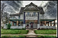 Halloween is never REALLY over... (Sherrianne100) Tags: ozarks missouri smalltown scary dilapidated oldhouse