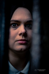 You can't hide (tbnate) Tags: portrait scary horror thriller face custody nikon d750 nikond750 girl woman eyes kirkstall abbey kirkstallabbey yorkshire westyorkshire dark leeds ruins