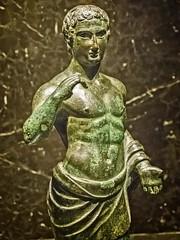 Etruscan Statuette Italy 3rd to 1st century BCE Bronze (mharrsch) Tags: etruscan statue bronze 3rdcentury 2ndcenturybce 1stcenturybce ancient nelsonatkins museum kansascity missouri mharrsch italy