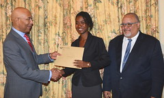 Jamaica's 2017 Rhodes Scholar, Shakeba Foster