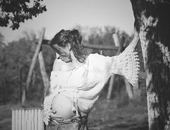 Futurs parents & Grossesse (Weblody) (Weblody) Tags: vintage années 60 annee60 dentelle romantique bohème ventre maman bébé grossesse enceinte décontracté sexy profil maternité femme
