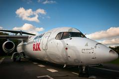 AVRO RJX (macmarkmcd) Tags: aircraft manchesteraviationcentre runwaypark nikon d300 18105mm