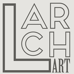 Larch Logo (larchart) Tags: larch art prints framed unframed modern contemporary clean fresh personalised unique quotes bright life
