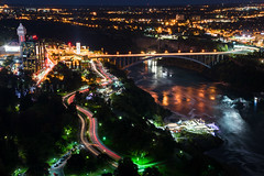Rainbow Bridge (-> LorenzMao <-) Tags: niagarafallsatnight rainbowbridge nikon nikond750 nightphotography nightlights niagara niagarafalls ontario on canada bridge waterreflection water car road falls waterfalls river tallbuilding trees lights lighttrails nikon24120mmlens nikon24120mmf4