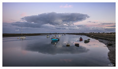 L1002976 (robert.french57) Tags: d31 barling creek water coast sea essex uk boats fishing blue sky bob robert french 57 leica m 240