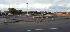 A41 changes,  Bicester, October 2016 (sbally1) Tags: bicester gardencity a41 oxfordshire construction
