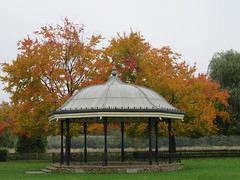 UK - Surrey - Godalming - Bandstand (JulesFoto) Tags: uk england centrallondonoutdoorgroup clog surrey godalming autumncolour bandstand