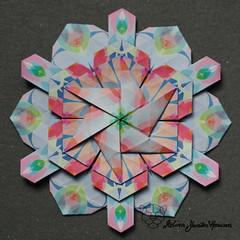 Iimori Mika D (Day 47) (Yureiko) Tags: yureiko tessellation papierfalten papier origami paperfolding paper
