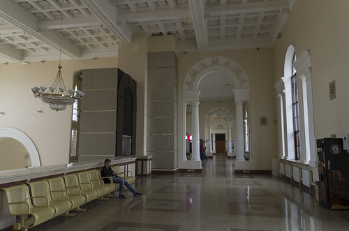 Waiting hall of the Vitebsk railway station, 17.05.2014.