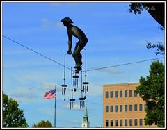 Munn's Park (Tim Sells) Tags: downtown lakeland munnspark lakelandflorida sculpture art windchimes timsells