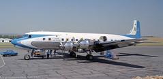 V5-NCF - 1958 build Douglas DC-6B, aircraft still current with Red Bull Austria as OE-LDM (egcc) Tags: 1034 45563 73101 classicairtravel dc6 dc6b douglas fala fisheagle gbm110 hla lanseria lightroom n996dm nca namibiacommercialaviation oeldm v5ncf yuafa piston