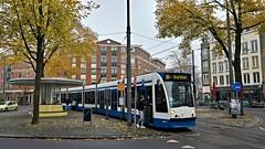 10+7 =20 (Peter ( phonepics only) Eijkman) Tags: amsterdam city combino tram transport trams tramtracks rail rails strassenbahn streetcars gvb nederland netherlands nederlandse noordholland holland