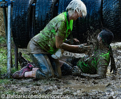 Here's Mud In Your Eye (JamesJ.Harris) Tags: muddy mud pack hospice st saint francis ashridgehouse charity run hemel hempstead fun water sunny race berkhamsted