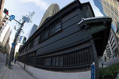 Doshomachi, Osaka (nak.viognier) Tags: doshomachi osaka  olympusepl3 lumixgfisheye8mmf35