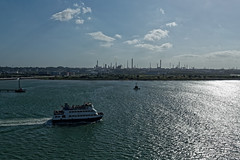 Fawley Refinery (Bertram Ernest) Tags: fawley refinery ship oil southampton england uk canon eos 6d ef 1635mm f4