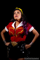 Bombshell Wonder Woman (dgwphotography) Tags: cosplay nycc nycc2016 newyorkcomiccon nikond600 nikoncls wonderwoman dccomics dc 50mm18g
