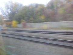From the Camp Hill line onto the Snow Hill lines (ell brown) Tags: birmingham westmidlands england unitedkingdom greatbritain camphillline track tracks rail rails bordesley smallheath tree trees shakespeareline chilternmainline