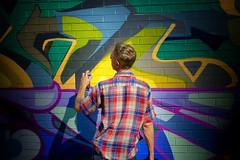 The Graffitist [in Explore, November 29, 2016] (David Cantatore) Tags: toronto art street streetart urban graffiti paint