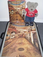 D'oh! (pefkosmad) Tags: jigsaw puzzle leisure pastime hobby complete 1000pieces statelyhome photograph chatsworthderbyshire philmar tedricstudmuffin teddy bear ted cute cuddly toy stuffed soft plush