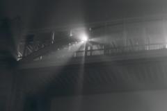 Fog (Brbelly) Tags: fog bridge newcastle england tyne night black white