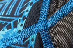 Macro Mondays - Stitch (Karon Elliott Edleson) Tags: stitches macro mondays leggings geometric tourquoise tamron60mm canon 7d stitch inexplore macrotuesday