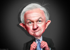 Jeff Sessions - Caricature (DonkeyHotey) Tags: jeffsessions jeffersonbeauregardsessionsiii attorneygeneral senator alabama rnc gop republican 2016 donkeyhotey photoshop caricature cartoon face politics political photo manipulation photomanipulation commentary politicalcommentary campaign politician caricatura karikatuur karikatur