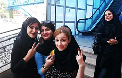 Shiraz (allainG) Tags: iran2015 streetview persia iranian peace friends friendship pace women shiraz persian students smile laugh iran