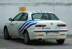 """Alfa-Romeo 156 1.8 TwinSpark """"Police"""" (peterolthof) Tags: alfaromeo 156 peterolthof"""
