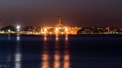 Aircraft Carrier San Diego (silberne.surfer) Tags: california usa nikon sandiego urlaub nikkor coronado kalifornien langzeitbelichtung sandiegoskyline 2015 lte nikkor70200mmf4 navyaircraftcarrier nikond750