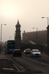 gloomy morning (Towner Images) Tags: city morning mist clock liverpool early gloom picton wavertree towner townerimages pictonfiveways