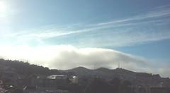 (sftrajan) Tags: cameraphone sanfrancisco california summer mountain weather fog skies view vista noevalley fogbank 2015 27thstreet