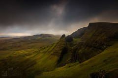 Bioda Buidhe (GenerationX) Tags: panorama rain weather landscape evening scotland highlands rocks isleofskye unitedkingdom scottish neil gb prints cleat barr trotternish landslip oldmanofstorr staffin quiraing rona flodigarry thestorr lochcleap lochmealt soundofraasay staffinbay biodabuidhe isleofraasay beinnedra canon6d caolrona cuithraing creagalain trndairnis eileanfladday roundfold eileantigh kvirand