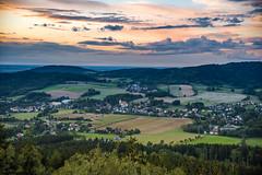 Cunewälder Tal (matthias_oberlausitz) Tags: herbst kirche himmel wolken turm tal oberlausitz bieleboh ostsachsen cunewalde