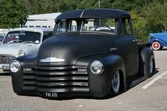 1948 Chevrolet pickup (davocano) Tags: brooklands chevroletadvancedesign yvl125 classicamericanday