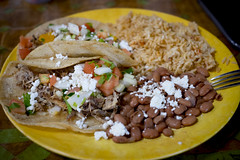 Carnitas plate (Dtek1701) Tags: prime beans fuji rice onions mexican eats fujinon carnitas xseries xt1 fixedfocallength mirrorless xshooter xmount xflens xf35f14 xtranssensor