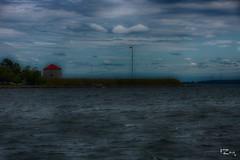 RMCC - Martello Tower (Russ Zara) Tags: ontario canada water lakeontario russ zara habour martellotower kingstonontario royalmilitarycollegeofcanada sonyslta77v russzara rzara