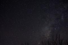 milky way (karim_dealba) Tags: longexposure blue sky mountain azul night way de stars noche pentax alba via cielo estrellas milky karim nebulosa lactea karimdealba